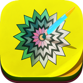 Mandala Coloring Book icon