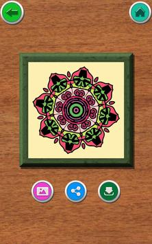 Mandala Coloring Book screenshot 12