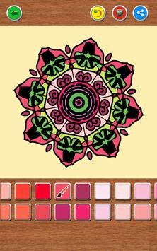 Mandala Coloring Book screenshot 13
