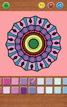 Mandala Coloring Book screenshot 15