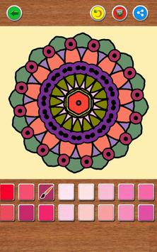 Mandala Coloring Book screenshot 16