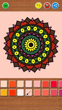 Mandala Coloring Book screenshot 1