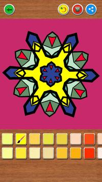 Mandala Coloring Book screenshot 6