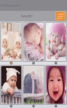 Baby Zipper Lock Screen apk screenshot
