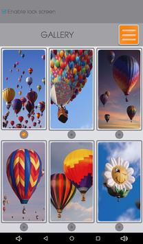 Hot Air Balloon Zipper Lock apk screenshot