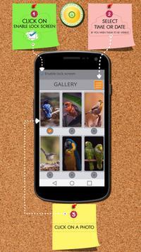 Birds Zipper Lock Screen poster