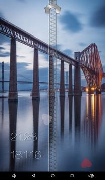 Bridge Zipper Lock Screen apk screenshot