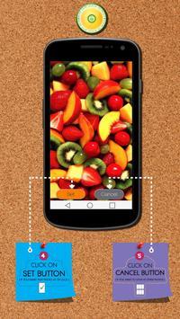 Fruits Zipper Lock Screen apk screenshot