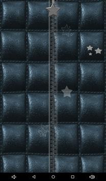 Leather Zipper Lock Screen apk screenshot
