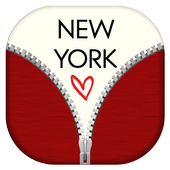 New York Zipper Lock Screen icon