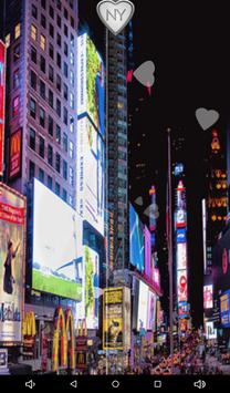 New York Zipper Lock Screen apk screenshot
