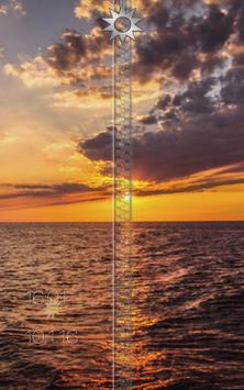 Sunset Zipper Lock Screen apk screenshot