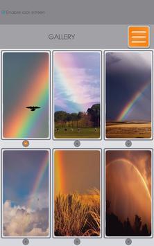 Rainbow Zipper Lock Screen apk screenshot