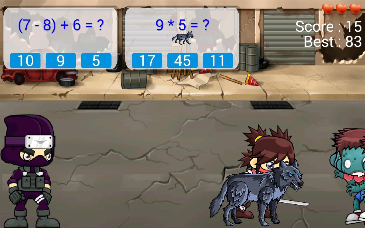 ninja math screenshot 3