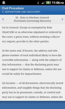 dLaw - State and Federal Laws screenshot 2