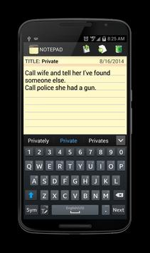 Notepad screenshot 5