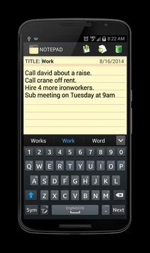 Notepad screenshot 6