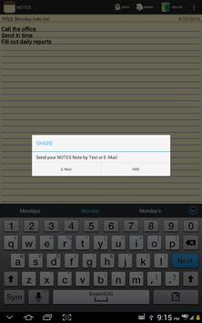 Notepad screenshot 13