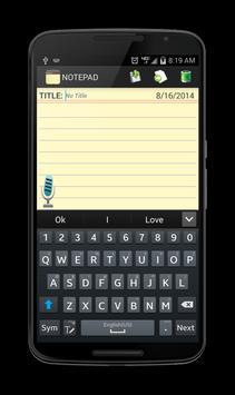 Notepad screenshot 15