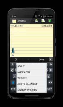 Notepad screenshot 16