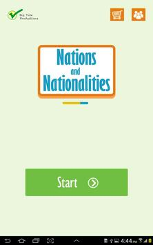 Nations and Nationalities poster