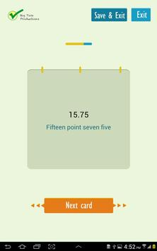 Talking About Numbers apk screenshot