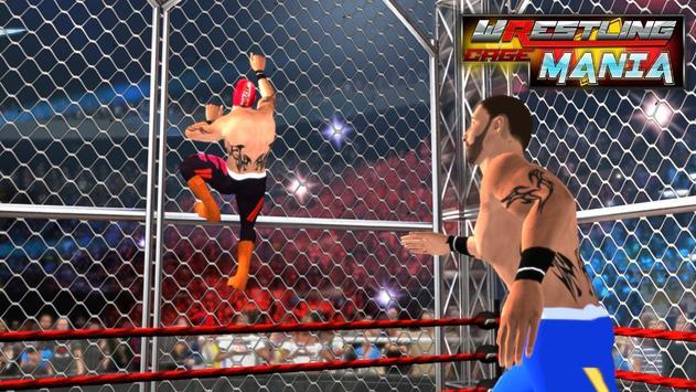Wrestling Cage Mania Ekran Görüntüsü 1