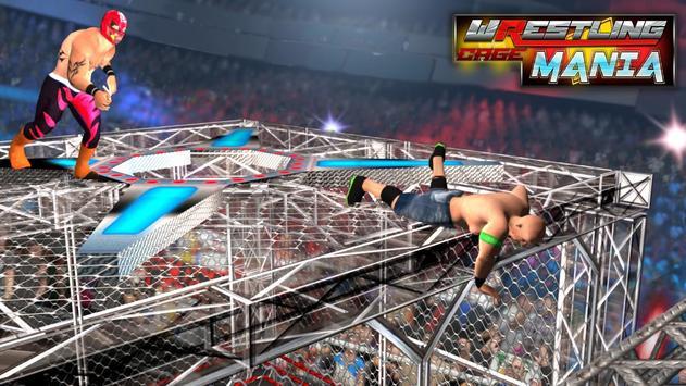 Wrestling Cage Mania Ekran Görüntüsü 2