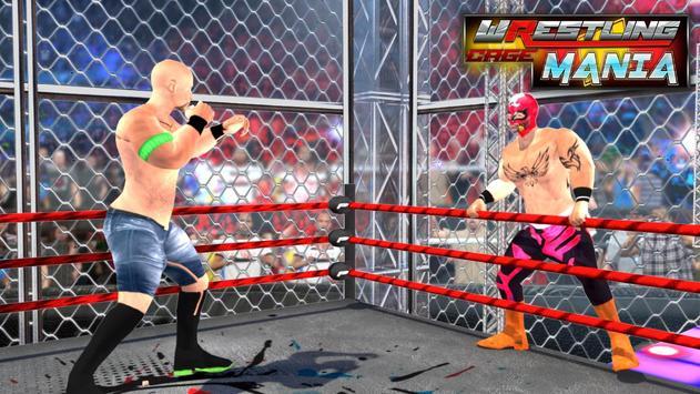 Wrestling Cage Mania Ekran Görüntüsü 3