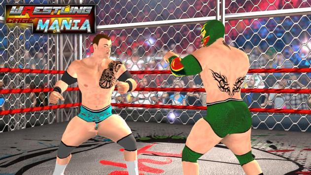 Wrestling Cage Mania Ekran Görüntüsü 4
