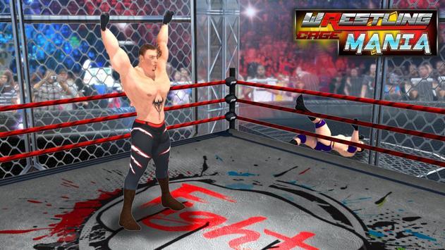 Wrestling Cage Mania Ekran Görüntüsü 5
