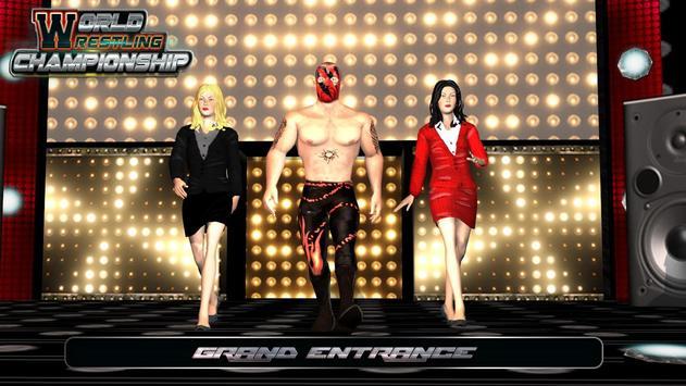 World Wrestling Champions 2K18 poster