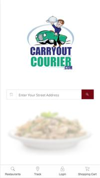 Carryout Courier poster