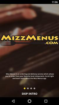 MizzMenus poster