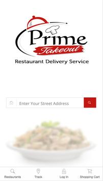 Prime Takeout - Food Delivery poster