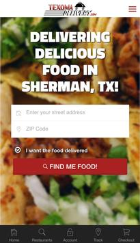 Texoma Delivery poster