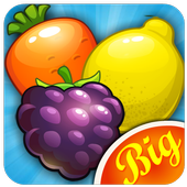 Fruits and Vegetables Connect- Trending games 2017 icon