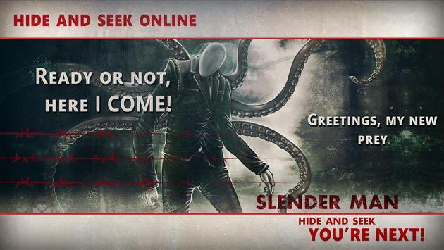 Slenderman Hide & Seek: Online Battle Arena screenshot 1