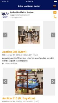 OLAuction apk screenshot