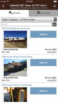 Equipment Marketers apk screenshot