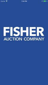 Fisher Auction poster