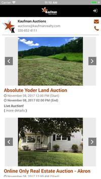 Kaufman Auctions apk screenshot