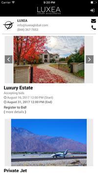Luxea Global apk screenshot