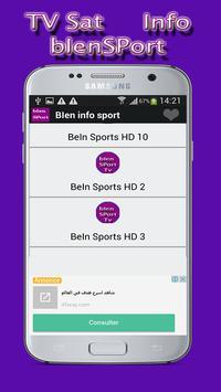 bien tv sport match 2017 screenshot 1