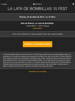 Mosica. Conciertos en Zaragoza screenshot 9