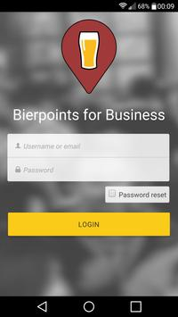 Bierpoints for Business poster