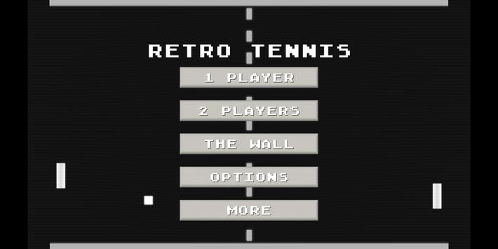RETRO TENNIS apk screenshot