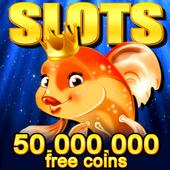 Big Gold Fish Slots Games - Top Slot Machines 2018 icon