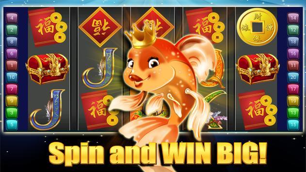 Big Gold Fish Slots Games - Top Slot Machines 2018 poster