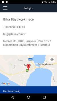 Bika Otomotiv apk screenshot